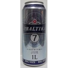 Pivo Baltika 7, 5.4% 1L design II