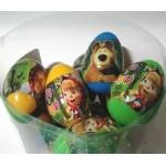 Plastové vajíčko Maša a Medvěd