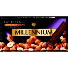 Millennium hořká čokoláda s ořechy 100g