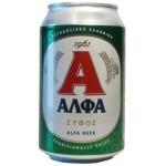 Pivo Alfa 330ml plech