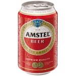 Pivo Amstel 330ml plech