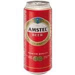 Pivo Amstel 500ml plech
