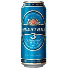 Pivo Baltika 3 450ml 4.8%