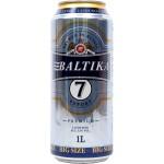 Pivo Baltika 7, 5.4% 1L design I