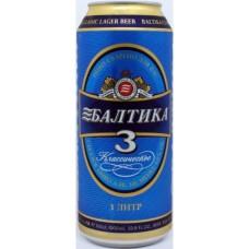 Pivo 1L Baltika 3 alk 4.8%