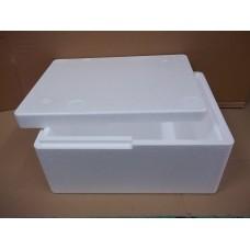přepravní box s víkem polystyrenový