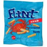 Flint Сухарики  s příchutí kraba