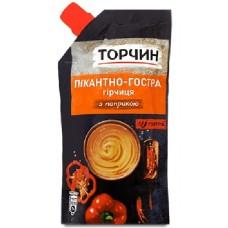 Hořčice ostra s paprikou Torčin 180g