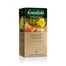 Zelený čaj Green Quince Ginger přebal 25x2g