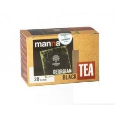 Gruzinský černý čaj Manna 40g sáčkovaný