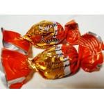 Broskev s vlašsským ořechem v čokoládě (100g)