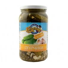 Okurky sudové Kozačok s koprem a česnekem