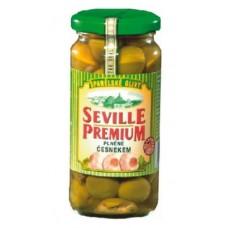 Olivy Seville Prmium s česnekem - AKCE