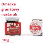 omačka granátový naršarab