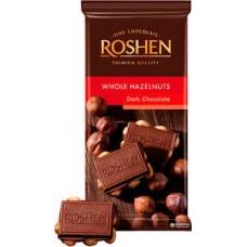 Roshen hořká čokoláda s ořechy