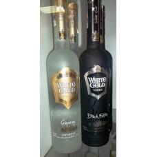 Vodka Russian gold black